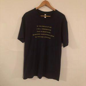 Crosby Stills & Nash Black T Shirt Size XL